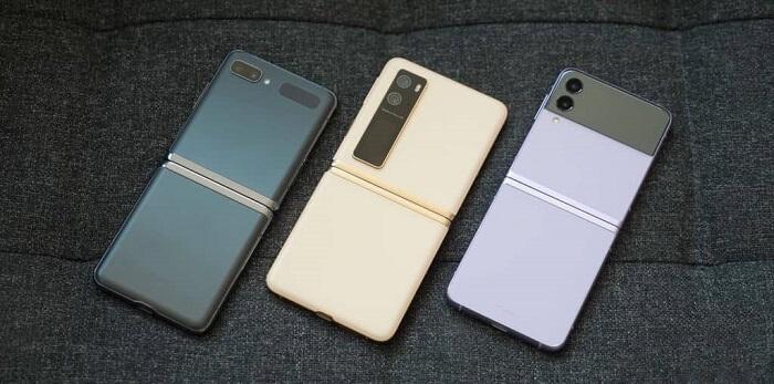هاتف Chicago يتوسط جهازي زد فليب وزد فليب 3 - أول هاتف قابل للطي بسعر معقول