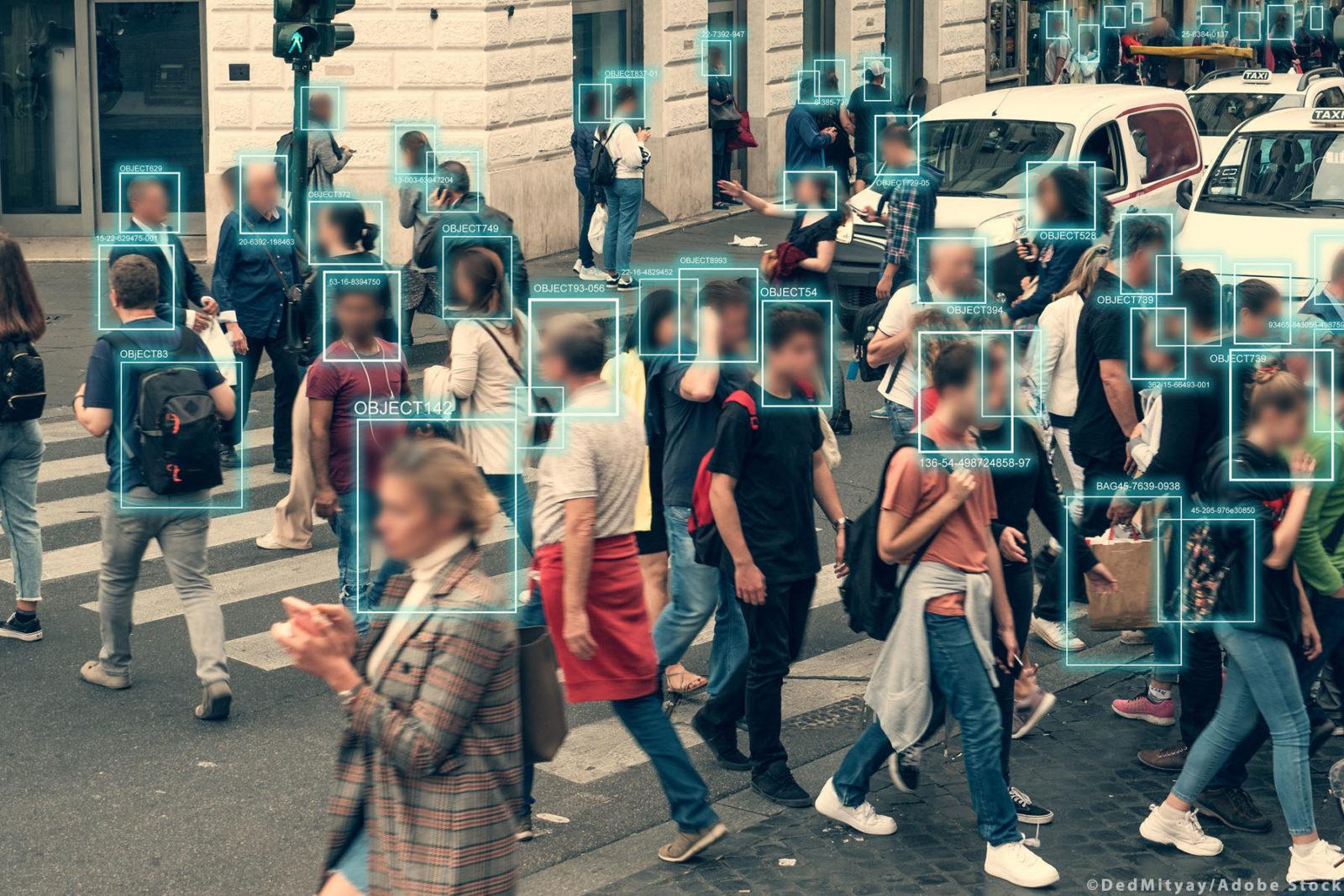 حظر تقنية التعرف على الوجه