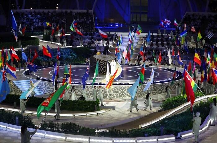 حفل الافتتاح - معرض إكسبو 2020 دبي